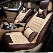 Leather Cream Mixed Color Cushion Car Seat Cover | Vehicle Parts & Accessories for sale in Lagos State, Ikoyi