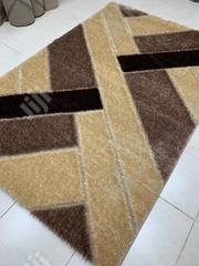 Category Of Brown And Gold Pattern Fluffy Center Rugs   Home Accessories for sale in Lagos State, Gbagada