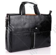 Mont Black Leather Office Bag Available as Seen Order Yours Now   Bags for sale in Lagos State, Lagos Island