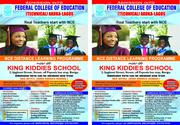 NCE Distance Learning Programme | Child Care & Education Services for sale in Lagos State