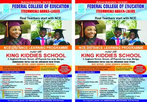 NCE Distance Learning Programme