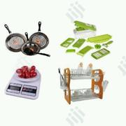 Frying Pans + Nicer Dicer + Kitchen Scale + Plate Rack   Kitchen Appliances for sale in Lagos State, Lagos Island