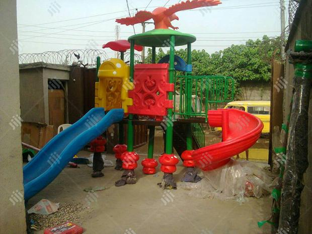 Big Playground With Swing For Children