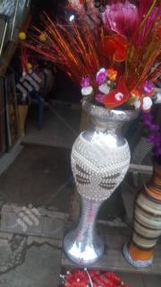 Quality & Beautiful Silver Flower Pot With Flowers. | Garden for sale in Lagos State, Lagos Island