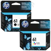HP 61 Black And Tri Color Original Ink Cartridge   Accessories & Supplies for Electronics for sale in Abuja (FCT) State, Wuse 2