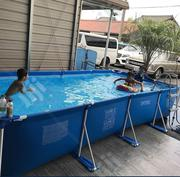 16feet Swimming Pool With Filter, Ladder and Cover for Sale in Nigeria | Sports Equipment for sale in Lagos State, Lagos Mainland