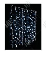 320 Bulbs Water Fall Christmas Light(White) | Home Accessories for sale in Lagos State, Lagos Island