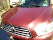 Toyota Highlander 2011 Hybrid Limited Red | Cars for sale in Lagos State, Isolo
