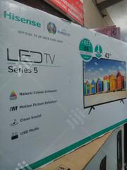 "Hissense 43"" Led Television With Two Years Warranty. 