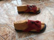 Alore Wine Suede Leather Footies   Shoes for sale in Oyo State, Akinyele