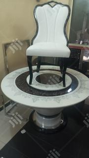 A New Turkey Round Cristal Marble Dining Table By6   Furniture for sale in Lagos State, Victoria Island