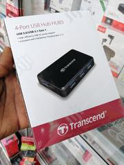 Transcend 3.1 USB Hub With Power Cable | Computer Accessories  for sale in Lagos State, Ikeja