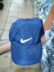 Nike Navy Blue Face Cap | Clothing Accessories for sale in Lagos State, Ikeja