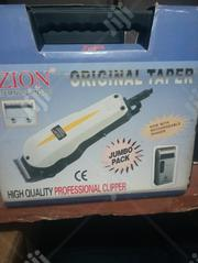 Original Zion Clippers With Free Rechargeable Hand Shaver | Tools & Accessories for sale in Lagos State, Ikeja