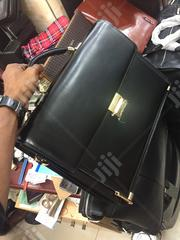 Mont Blanc Genuine Leather Laptop/Briefcase Bag Available as Seen | Computer Accessories  for sale in Lagos State, Lagos Island