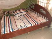 "6"" by 7"" Mouka Mattress and Bed Frame 