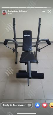 Weight Bench With 50kg   Sports Equipment for sale in Lagos State, Ajah