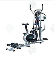 5in1 Elliptical Bike With Stepper,Dumbell,Twister and Massager | Sports Equipment for sale in Abuja (FCT) State, Gwagwalada