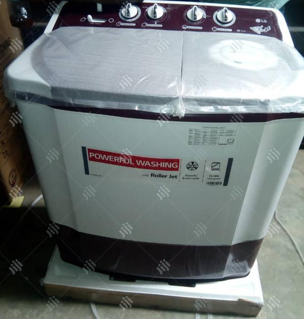 Original Quality and Powerful LG Washing Machine With Roller Jet.