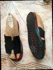 Hermes Quality Leather Made Slide   Shoes for sale in Oyo State, Akinyele