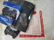 UK Used SONY Playstation 3 , 2 Pads (10games) | Video Game Consoles for sale in Lagos State, Ikeja