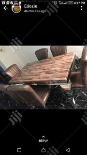 High Quality Marble Dinning Table With 6 Chairs. | Furniture for sale in Abuja (FCT) State, Garki 1