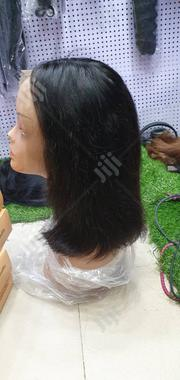 Lace Frontal Wig Pure Virgin Hair 10"