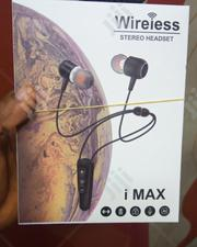 I Max Wireless Stereo Bluetooth | Accessories for Mobile Phones & Tablets for sale in Lagos State, Ikeja