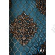 Blue Gold Damask Wallpaper | Home Accessories for sale in Abuja (FCT) State, Gwarinpa