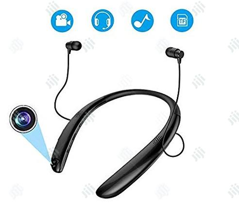Bluetooth Headsets With Video Recording Camera,Recorder Wireless Earph