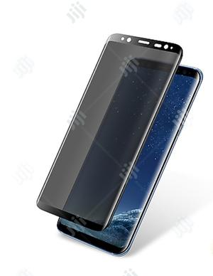 S8 Plus Privacy Screen Protector 3D Tempered Glass Anti-Spy