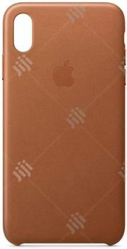 Apple iPhone Leather Case (For iPhone Xs Max)   Accessories for Mobile Phones & Tablets for sale in Lagos State, Ikeja