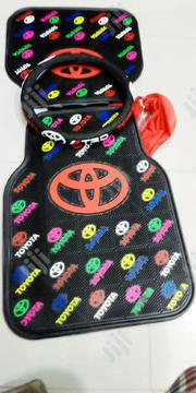 Car Mat With Steering Wheel Cover | Vehicle Parts & Accessories for sale in Lagos State, Ojo