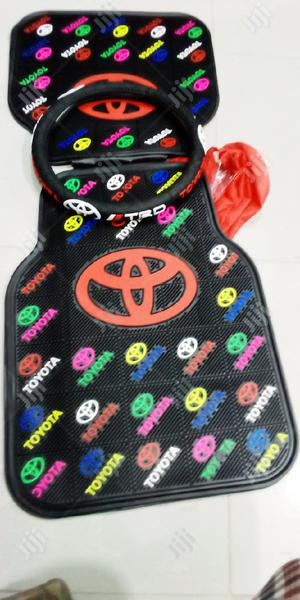 Car Mat With Steering Wheel Cover