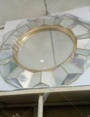White Round Vintage Mirror | Home Accessories for sale in Lagos State, Surulere