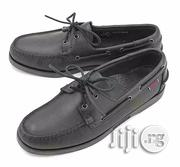 Sebago Docksides Leather Lace-Up Moccasins - Black | Shoes for sale in Lagos State