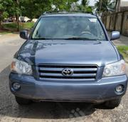 Toyota Highlander 2005 V6 4x4 Blue | Cars for sale in Lagos State, Amuwo-Odofin