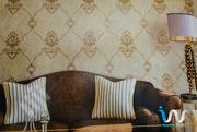 Gold Queen's Damask Wallpaper   Home Accessories for sale in Abuja (FCT) State, Gwarinpa