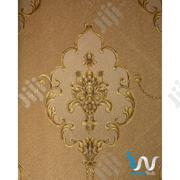 Deep Gold Floral Wallpaper | Home Accessories for sale in Abuja (FCT) State, Kado