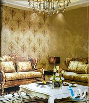 Bold Silver Floral In Brown Wallpaper | Home Accessories for sale in Abuja (FCT) State, Mpape