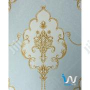 Bold Floral Gold In Blue Wallpaper   Home Accessories for sale in Abuja (FCT) State, Mpape