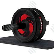 No Noise Abdominal Wheel Ab Roller With Mat For Exercise | Sports Equipment for sale in Abuja (FCT) State, Central Business District