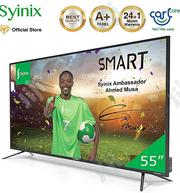 "✓ Syinix 55""Android 4K Uhd Smart LED TV T710U 55""Inch Series Exclusive 