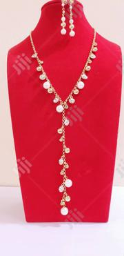 Exquisite Shirt Chain With Matching Earrings | Jewelry for sale in Lagos State, Ikeja