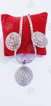 Exquisite Silver Set Earrings and Pendant With Chain | Jewelry for sale in Lagos State, Ikeja