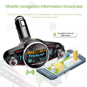 Wireless Bluetooth Car MP3 Player Car Fast Charger