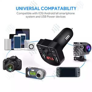 Bluetooth FM Transmitter 3.1A Dual USB Charger Wireless Audio Receiver