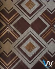 Brown Sandalwood Prism Pattern Suede Wallpaper | Home Accessories for sale in Abuja (FCT) State, Durumi