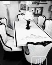 Six Chair Italian Marble Dining Table. | Furniture for sale in Lagos State, Ikeja