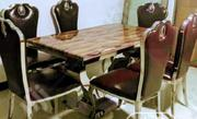 New Six Chair Italian Marble Dining Table | Furniture for sale in Lagos State, Ikeja